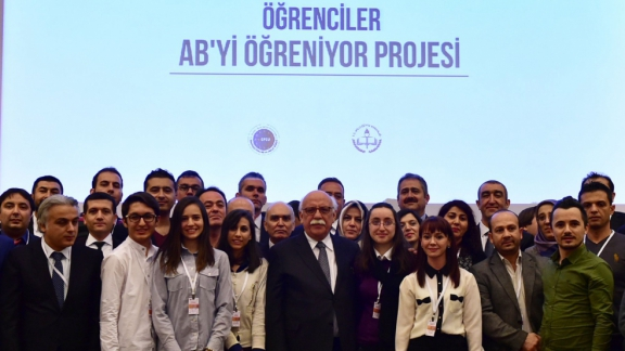 Minister Avcı attends Students are Learning EU Project International Conference